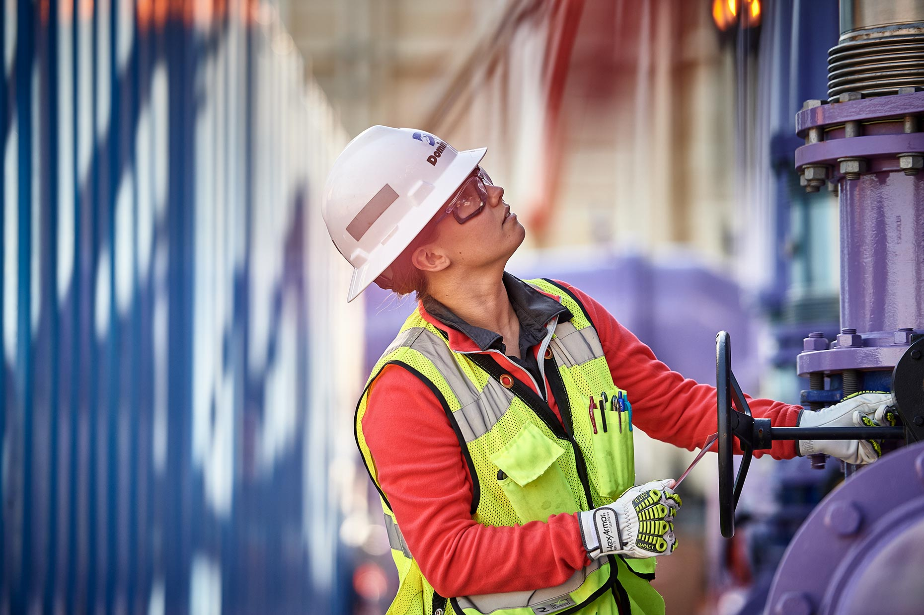 Female Engineer Dominion Energy