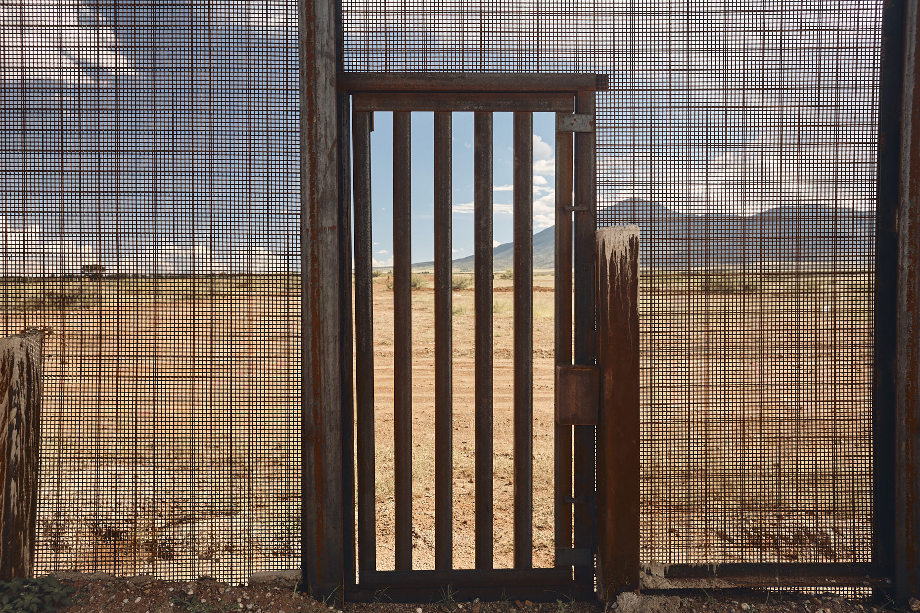 Arizona/Mexico International Border Wall